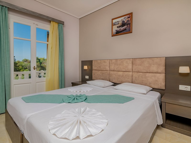 Double Rooms Plaka Beach Resort Vasilikos Zakynthos Greece